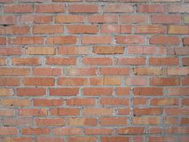 Photo of red brick wall Stock Image
