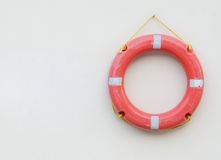 Buoy on the wall Royalty Free Stock Photo