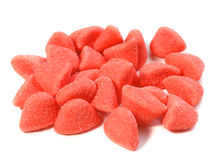 Photo of red candies background Royalty Free Stock Photos