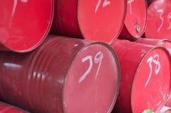 Oil drums Stock Photos