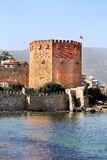 Photo of a red tower Royalty Free Stock Images