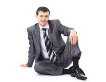 Photo of relaxed businessman Royalty Free Stock Photos