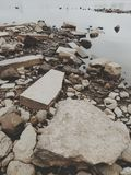 River bottom. Photo of river bottom Stock Images