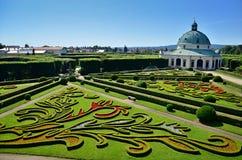 Rotunda in french garden Stock Photography
