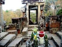 Royal Enclosure Angkor. Photo of ruins within the Royal enclosure in Angkor ruins, Siem Reap cambodia stock images
