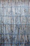 Photo sans couture de vieux portés abat-jour de bambou Photos libres de droits