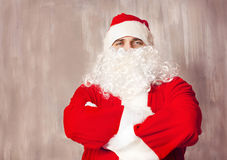 Photo of Santa Claus looking at camera Stock Photos