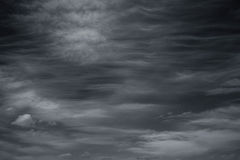 Photo scenic sky in black and white, abstract nature background Stock Photo