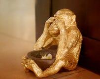Photo sculptures monkey Stock Photography