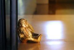 Photo sculptures monkey Royalty Free Stock Image