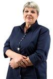 Photo of senior woman Stock Photography