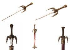 Photo series warrior sword Stock Photography
