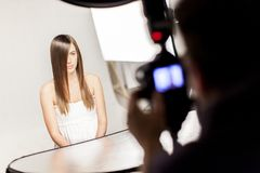 Photo session Stock Photography