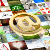 Photo share Stock Images