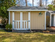 Photo of the shed. Stock photo of the shed Royalty Free Stock Photo