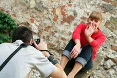 Photo shoot Royalty Free Stock Photography