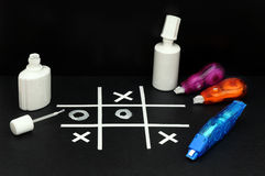 Fantasy with office supplies Stock Photography