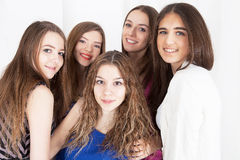 Photo shot of young women Stock Photography