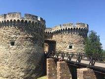 Fortress in Belgrade Royalty Free Stock Photo