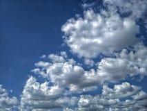 Cloudy sky. stock photography