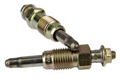 Photo shows the glow plugs for diesel engines Stock Photo