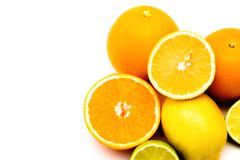 Fruits, tropical fruits, juicy fruits, citrus, citrus fruits, orange, lemon, lime, grapefruit, juicy, fruit on a white background, stock photos
