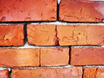 Red brick background stock photography