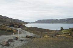 Landscape on island stock image