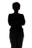 Photo of silhouette adult woman Stock Photo