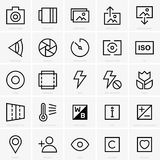 Photo site icons. Available in high-resolution and several sizes to fit the needs of your project Royalty Free Stock Photo