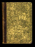 Photo skan texture antique vintage diary journal book cover Stock Images