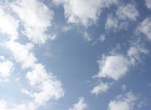 Photo of sky with clouds Royalty Free Stock Photo