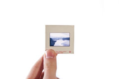Photo slide Stock Photo