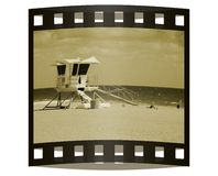 Photo slide from beach vacation Stock Photography
