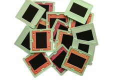 Photo slide frames royalty free stock photo