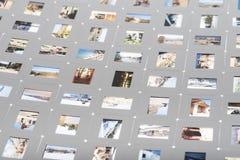 Photo slide Stock Photography