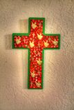 An Ornate Handmade Cross Royalty Free Stock Images