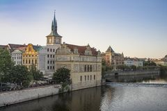 The Smetana museum in Prague, Czech Republic royalty free stock photos