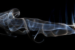 Photo of the smoke Royalty Free Stock Image