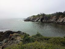 Smugglers Cove, NS Canada royalty free stock image