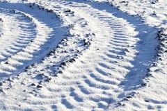 Photo snow, close-up Stock Image