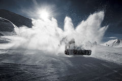 Photo of Snowboarding Person Royalty Free Stock Photos