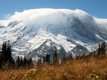Photo of Snowy Mountain Stock Photography