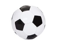 Photo of a soccer ball Royalty Free Stock Photography