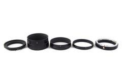 Photo of sorted macro rings Royalty Free Stock Photo