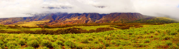 Photo of a southeast part of Maui Hawaii Royalty Free Stock Images