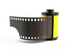 Photo spool. For film isolated Stock Photos