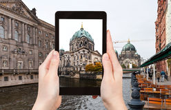 Photo of Spree river and Berliner Dom Stock Photo