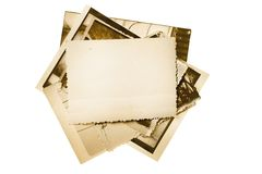 Photo stack Stock Images