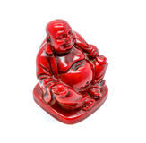 Photo of statuette of buddha isolated on white background Stock Photos